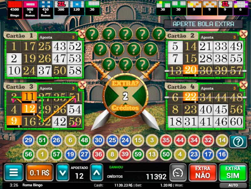 Jokerball vídeo bingo 515313