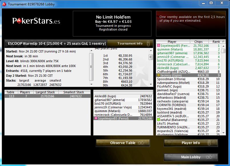 Pokerstar 30 cassino jon 151694