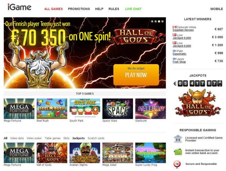 Casinos classificação 580716