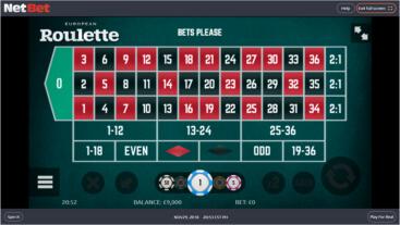 Roleta europeia casinos 475447