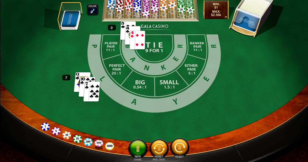 Casino ganhou baccarat 727775
