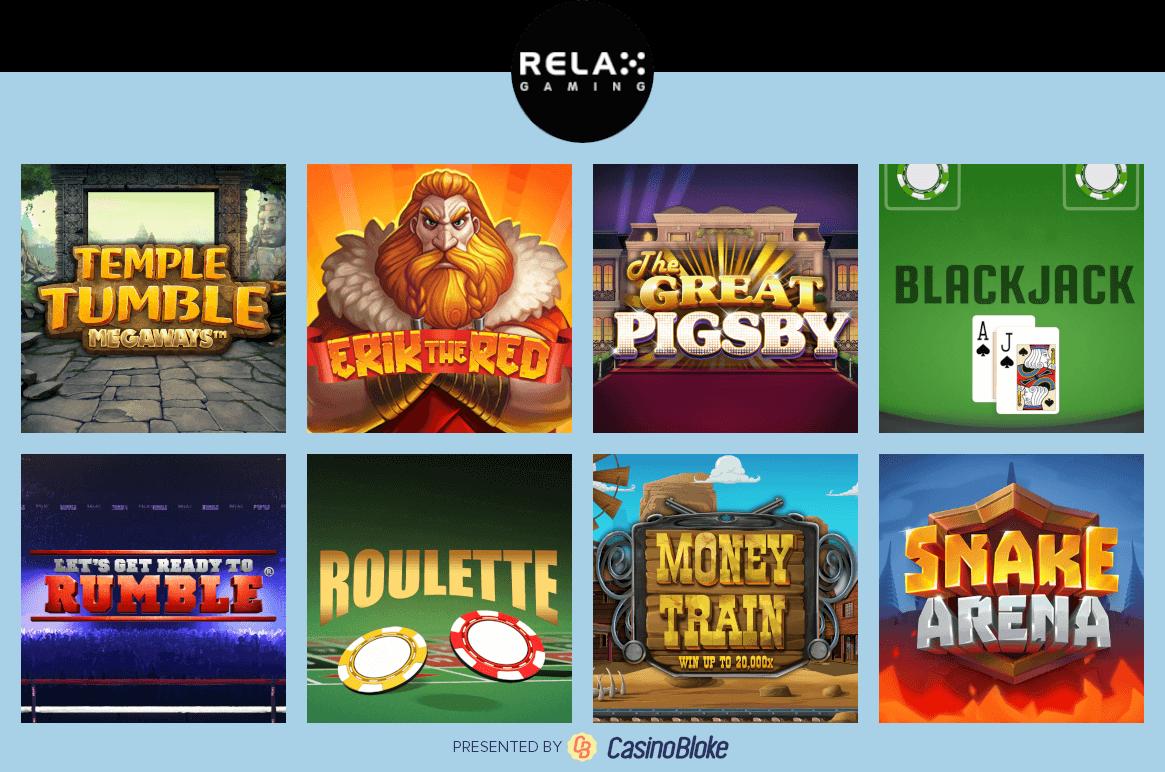 Casinos relax 405341