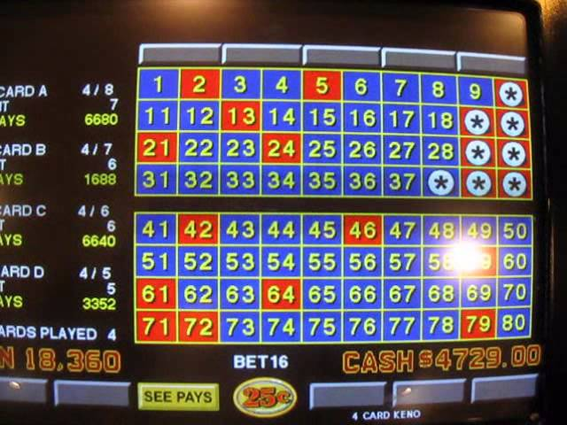 Jackpot keno slot casino 197817