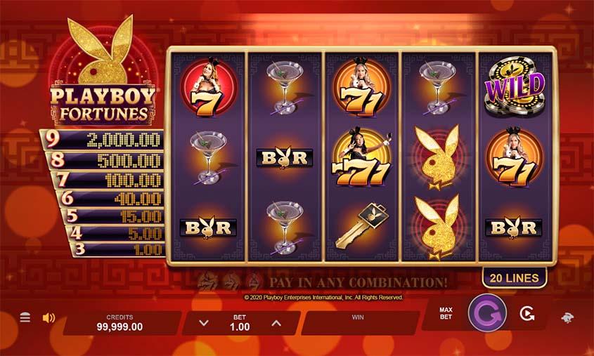 Playboy caça níquel primeira 365550