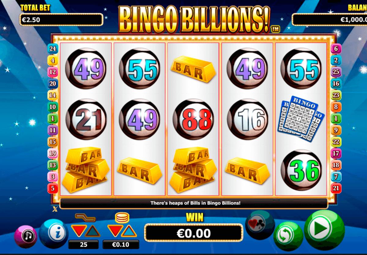 Belissimo caça níquel bingo 654067
