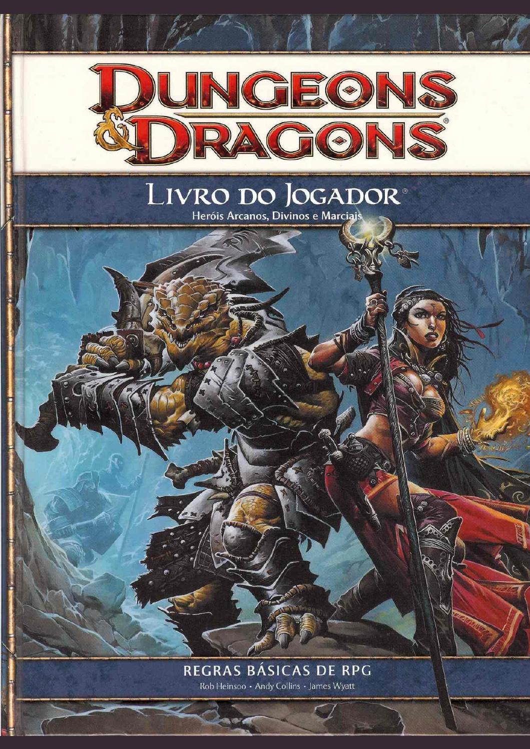 Dungeons and dragons jogo 133510