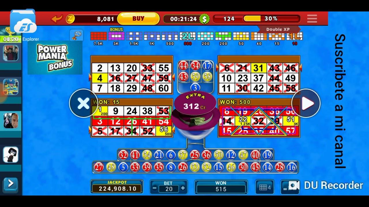 Jokerball vídeo bingo objetos 515169