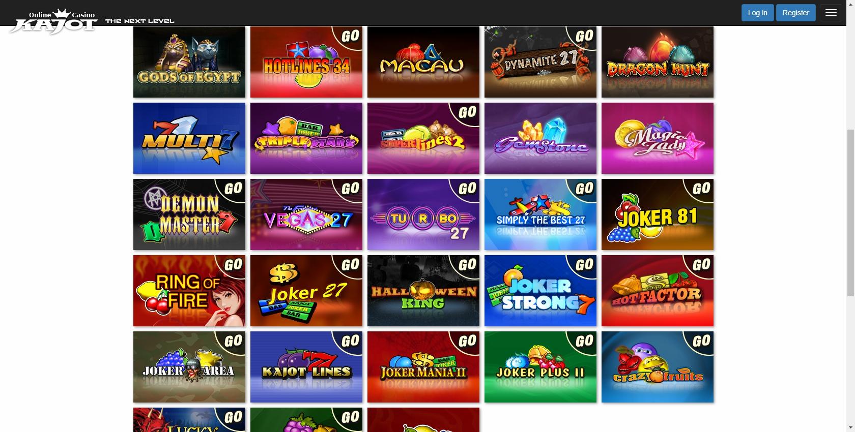 Kajot games casino reclamações 664030