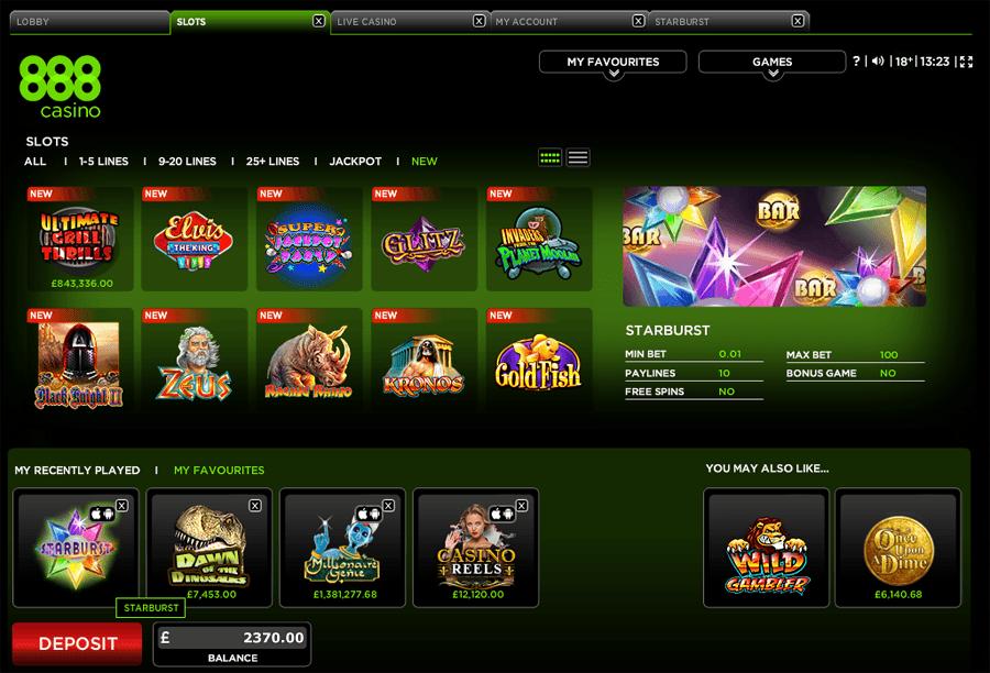 888 casino 521053