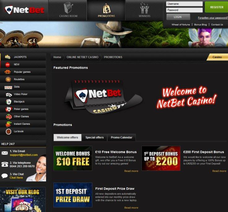 Bonus netbet williams interactive 636710