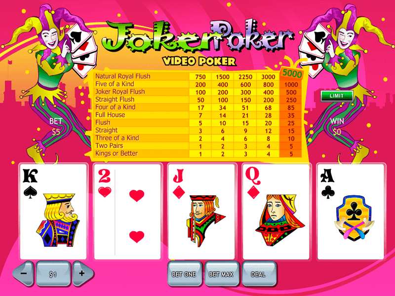 Casinos Austrália video poker 386892