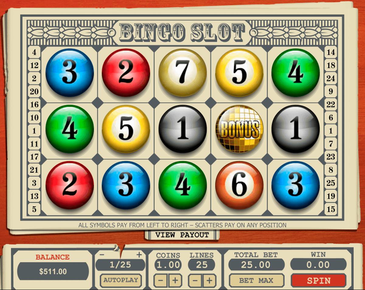 Bingo caça niquel bits 612248