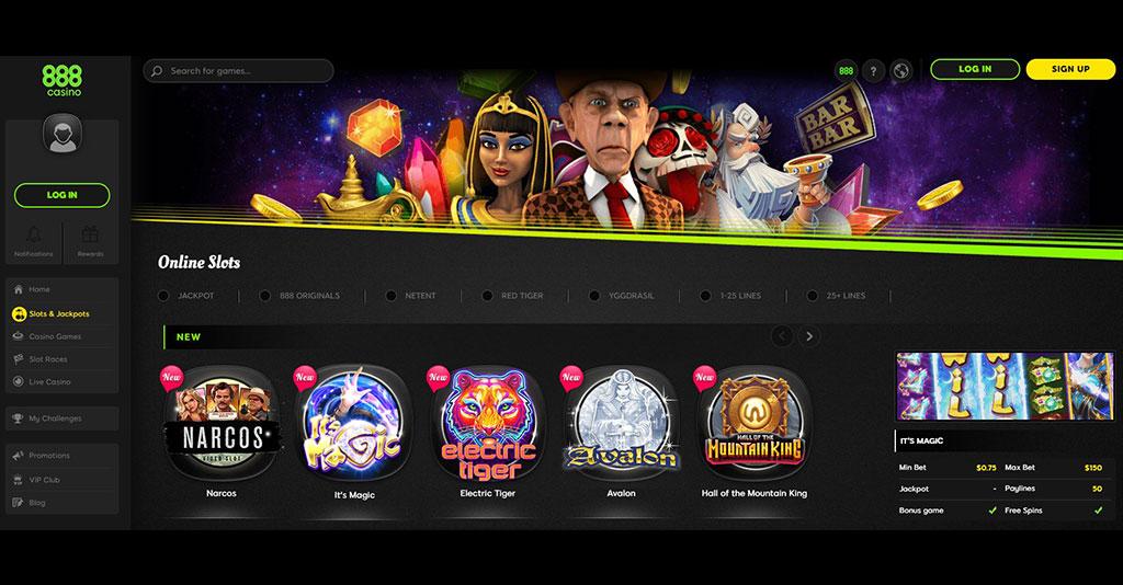 Casinos ao vivo 189601