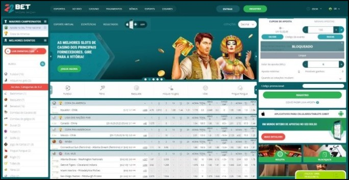 Freebet 22bet melhor casino 248828