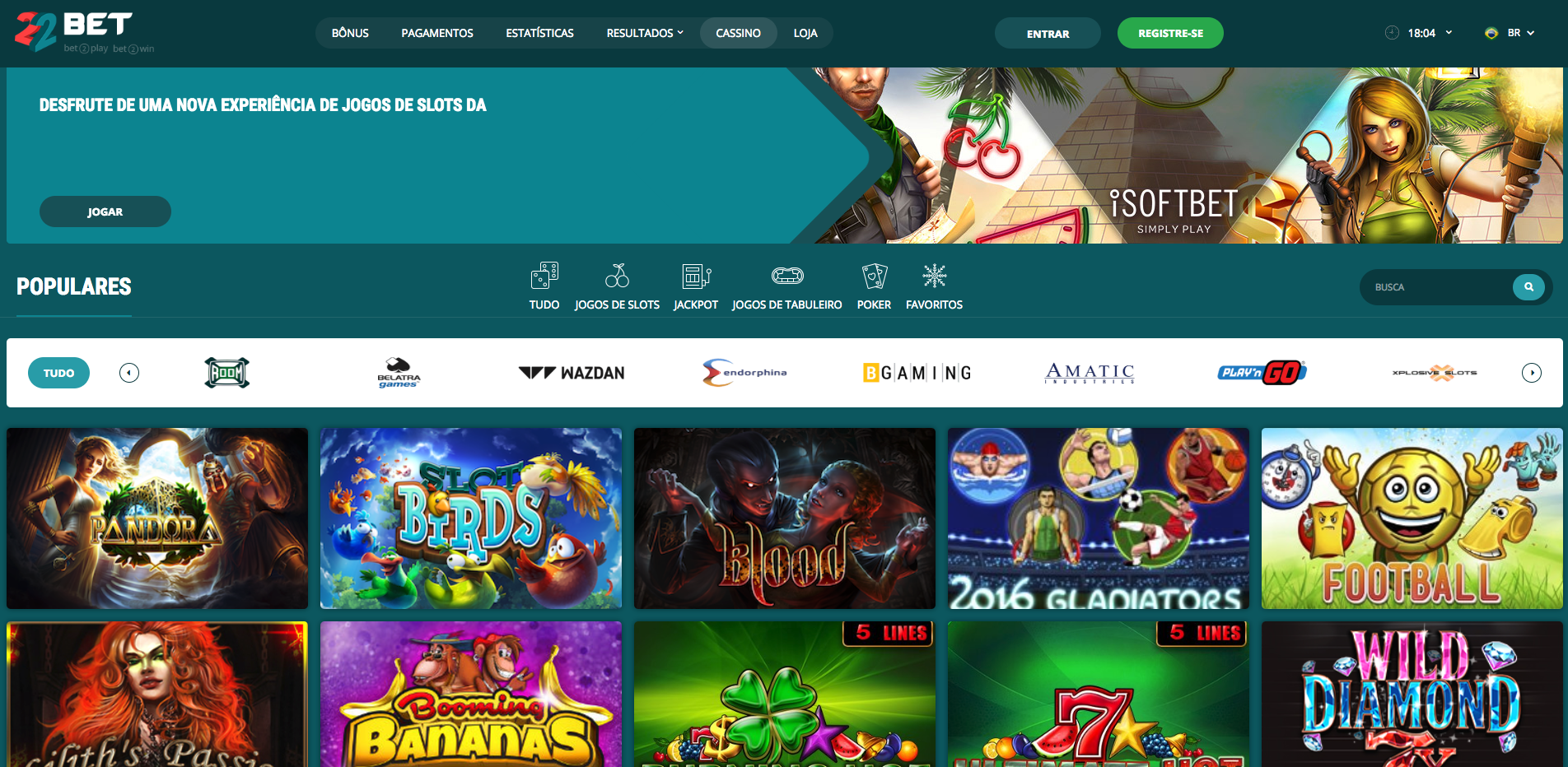 Wild casino Brasil 22bet 322754