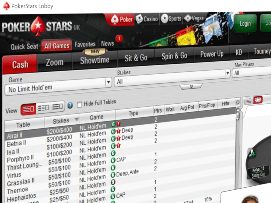 Poker star cashback app 671175