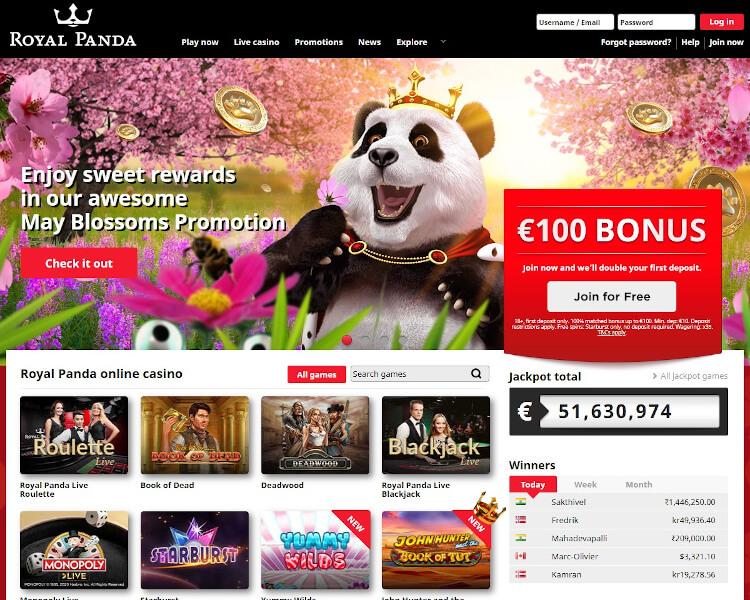 Royal Panda bitcoin historia 137968