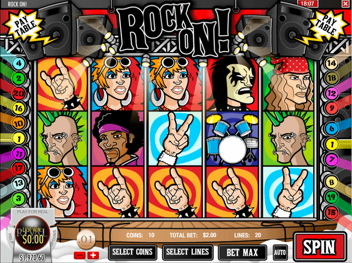 Slot machines online rock 429699